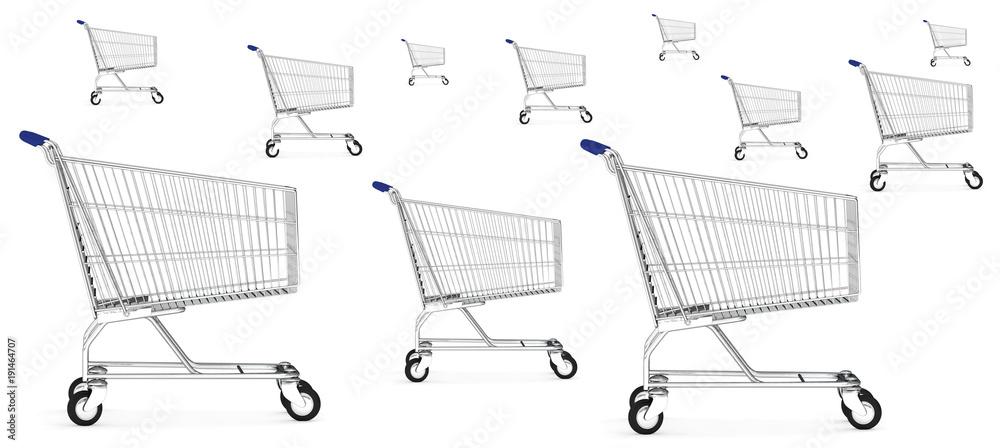 Fototapety, obrazy: trolleys
