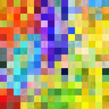 Patchwork Pixel Blocks