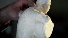 Gypsum Art Sculpture Making - ...