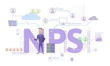 NPS Concept, Vector Illustrati...