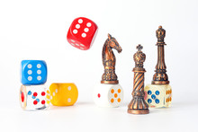 Metal Chess And Wood Plastic D...