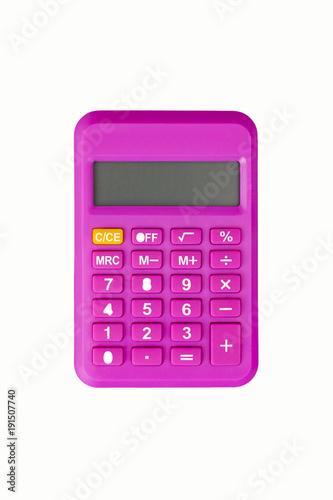 pink calculator - 191507740