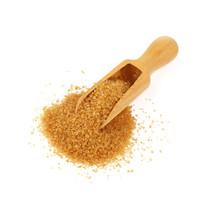 Wooden Scoop Spoon Full Of Bro...