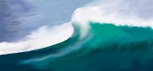 Great Wave In The Ocean