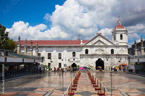Vászonkép Basilica Minore del Santo Nino is a minor basilica in Cebu City, Philippines