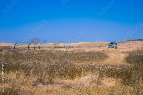 Photo  Expediçao Uruguai, Land Rover Defender 110 em Laguna Rocha