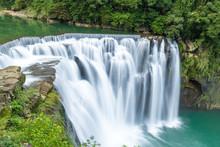 Shifen Waterfall ,Beautiful Bi...