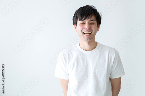 Photo  笑顔の男性