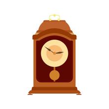 Clock Pendulum Vector Old Gran...