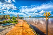 Landmark Of Nakhonphanom,Thail...