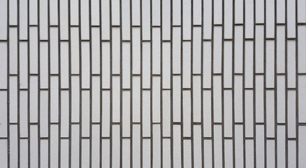 Wall tiles white color are rectangular in shape.square background