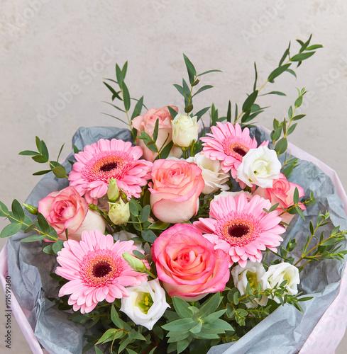 flower bouquet in the vase