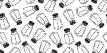 Pepper Seamless Pattern Salt S...