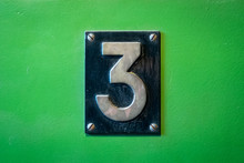Number 3 Sign - Number Three M...