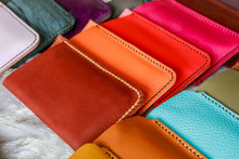 Colorful Of  Leather Wallet  F...