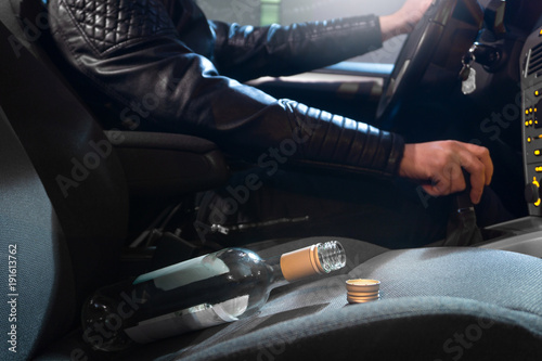 Fotografering Drunk driving concept