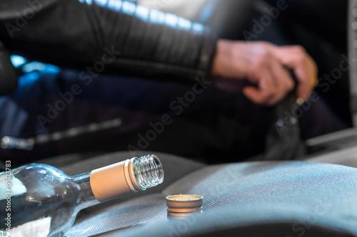 Fotografie, Obraz  Drunk driving concept