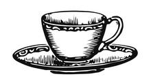 Historische Keramik Tasse - Hi...