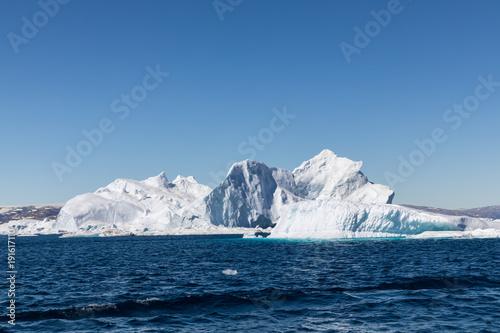 Autocollant pour porte Arctique Die Wildnis Grönlands