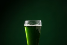 Glass Of Green Beer, St Patric...