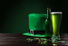Green Hat With Green Beer And ...