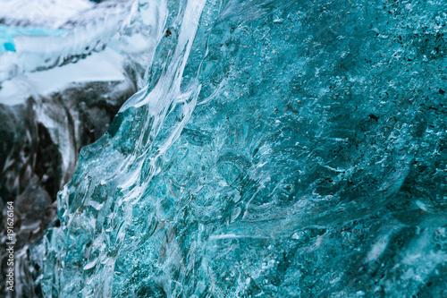 Poster Glaciers frost iceberg closeup