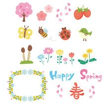 春のイメージアイコン...