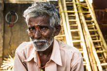 Portrait Of Indian Elder Man W...