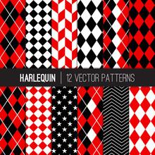 Harlequin Seamless Vector Patt...