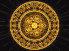 Fractal Mandala - Abstract Digitally Generated Image