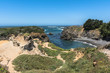 Cove in Mendocino, California