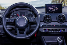 Dashboard And Steering Wheel O...