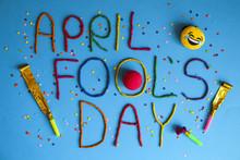 Funny Font First April Fools D...