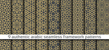 Seamless Pattern In Authentic ...