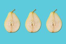 Creative Layout Made Of Pear. ...