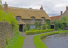 Thatched Roof House In North Y...