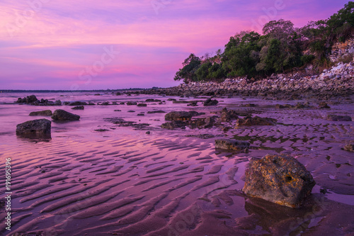 Canvas Print Sunset at Mindil Beach Darwin, Northern Territory, Australia