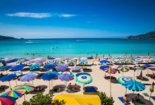Patong Beach In Phuket, Thaila...