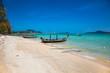 Mu Ban Khalita beach in Mueang district, Phuket, Thailand.