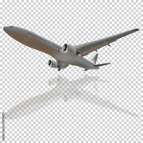 Plane Vector On The Transparent Backgroundconcept Of Planevector Illustration