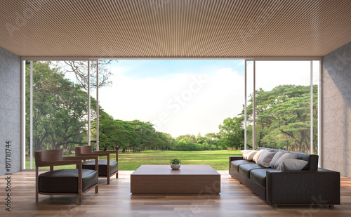 Modern contemporary living room 3d rendering image.The Rooms ...