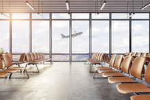 Clean Airport Interior