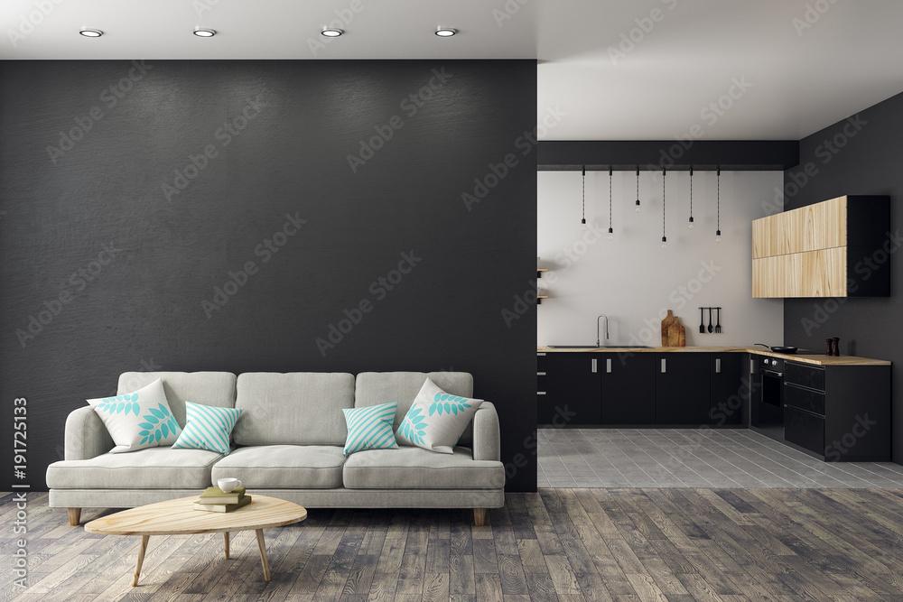 Fototapety, obrazy: Modern studio interior
