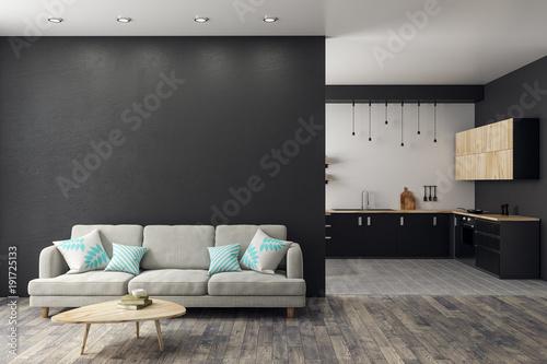 Fototapeta Modern studio interior obraz