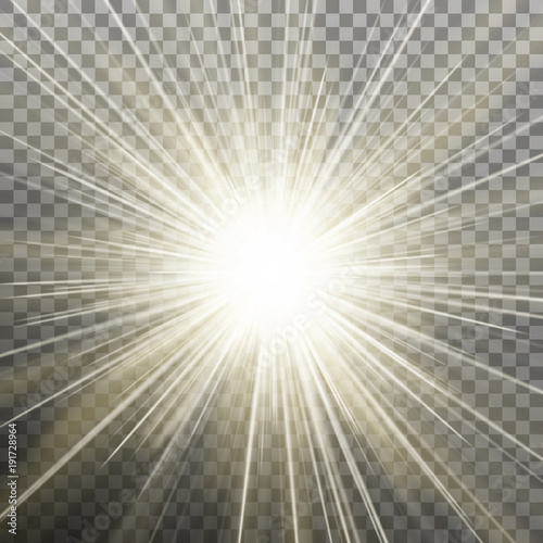 Fotomural  Bright shining star
