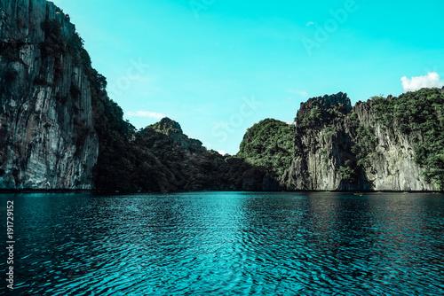Spoed Foto op Canvas Turkoois Philippines landscape