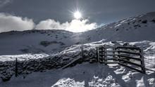 Gate In The Snow, Ingleborough