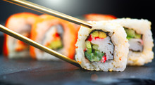 Sushi Rolls. Japanese Food In ...