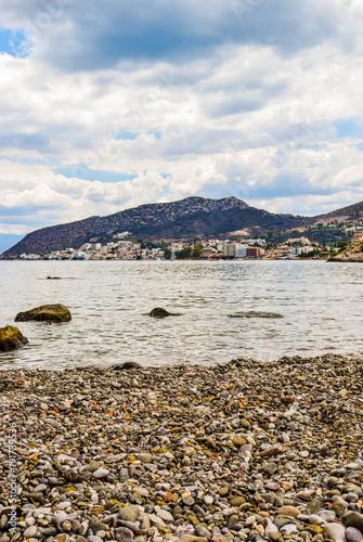 Staande foto Stockholm Asini small beach, Greece.