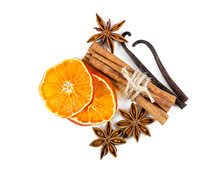 Dried Orange Slices, Cinnamon,...